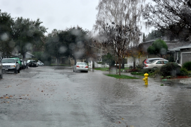 mid day rainfall