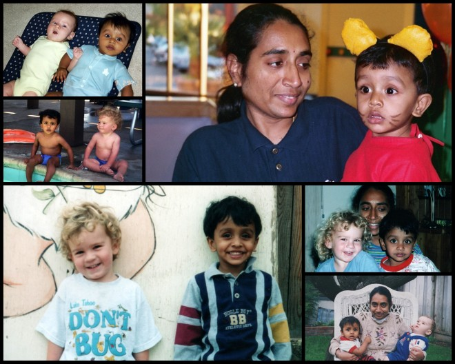 Nandini and boys