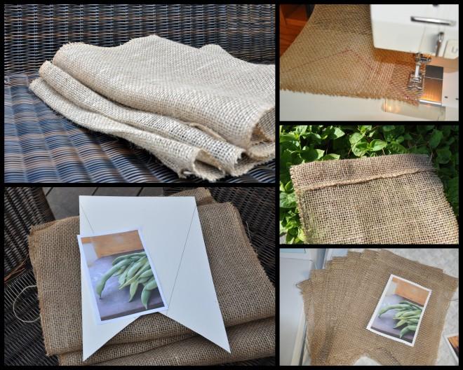 burlap bunting template