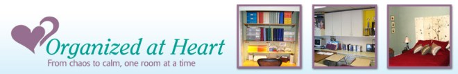 Organized at Heart Facebook banner