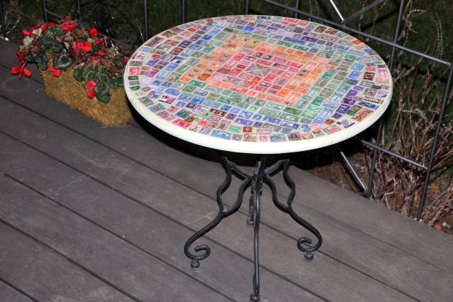 postage stamp table project-003