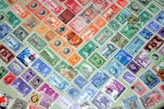 Postage Stamp table detail