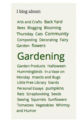 screen shot blog tags
