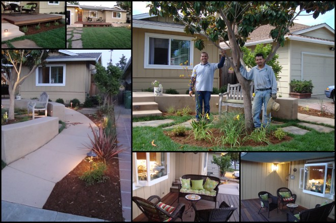 2010 front garden design bergez
