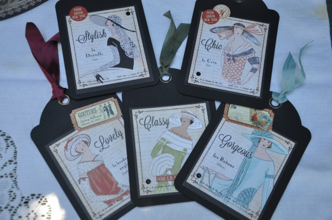 Graphic 45 gift tags