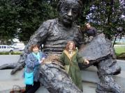 Pauline and Lisa in Washington, DC