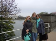 In Washington, DC with Kelly and Pauline