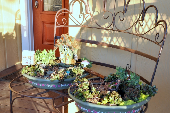 Replanted Fairy Garden, The Long View