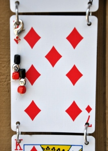 playing card gift detail