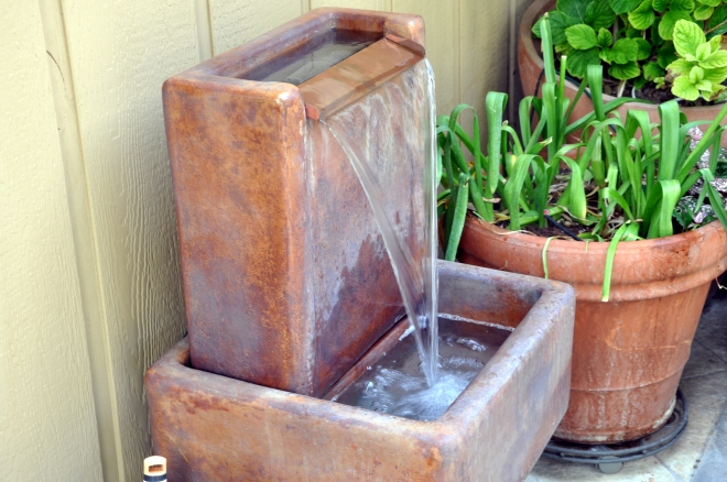 new water fountain