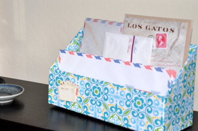 guest room airmail letters
