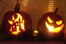 Glowing Pumpkins