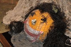 Creepy Crawly Pumpkin