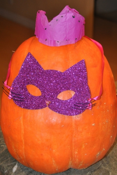Crowned Kitty Pumpkin
