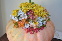 Flower Vase Pumpkin