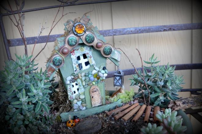 fairy garden halloween house