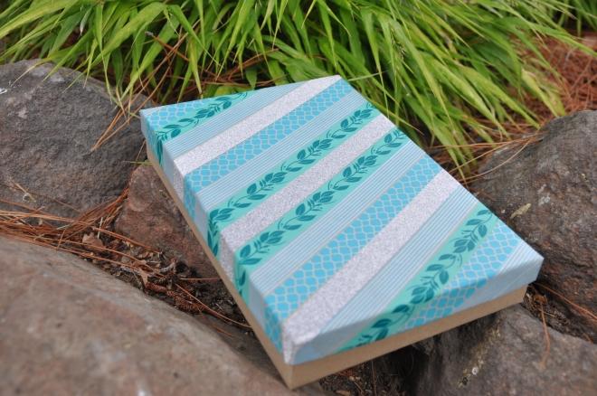 Washi tape gift box