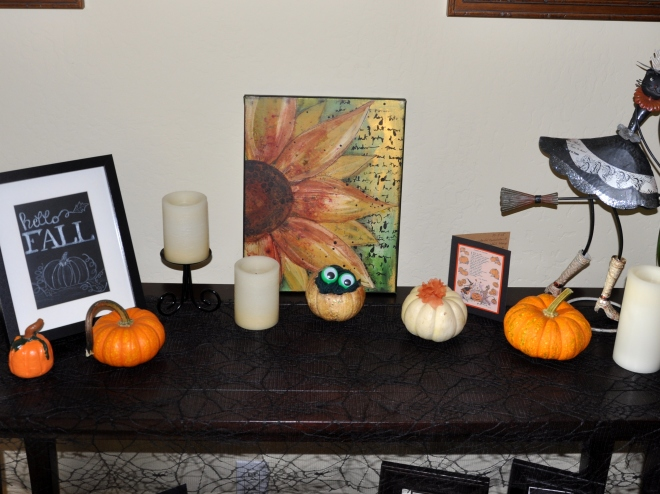 Indoor Halloween Display