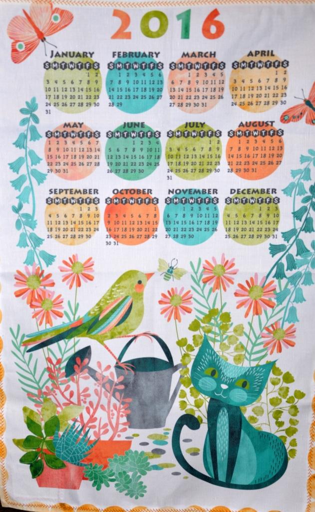 Marcia's calendar