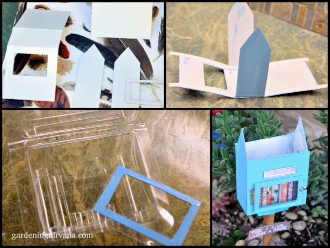 mini little free library construction