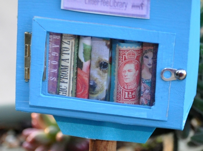 mini little free library door hardware
