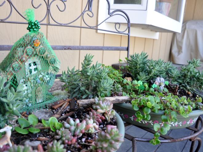fairy garden st. patrick's day