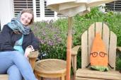 Having a chat with gardenerd