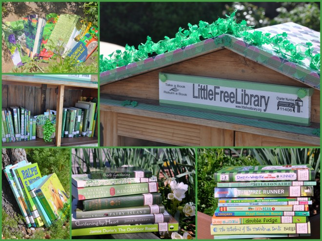 Little Free Library st. Patrick's day