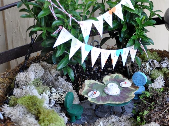 fairy garden birthday