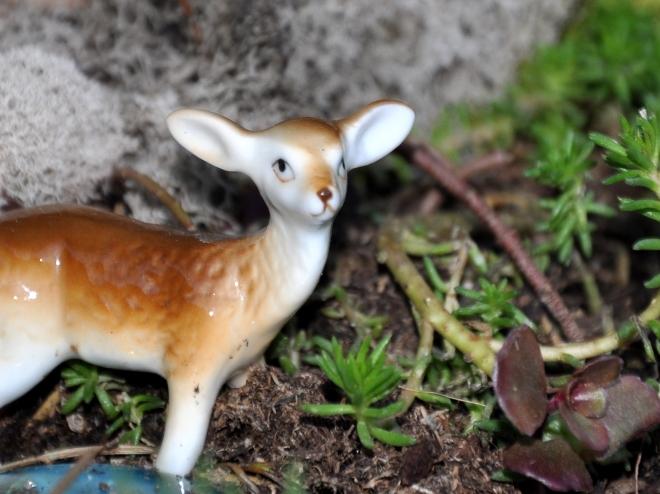 fairy garden deer