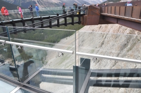 View of the Skywalk from the edge