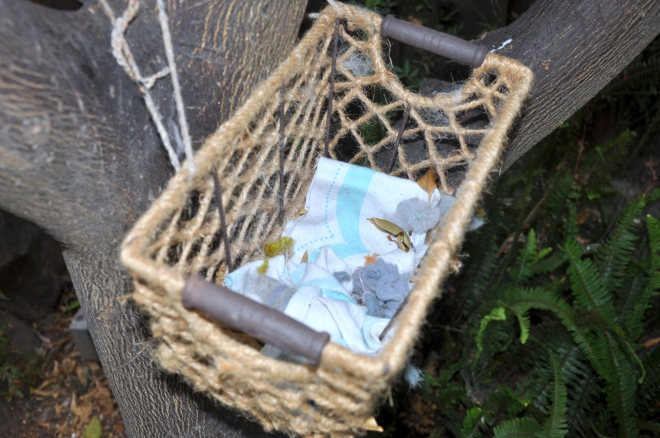 nesting material basket august