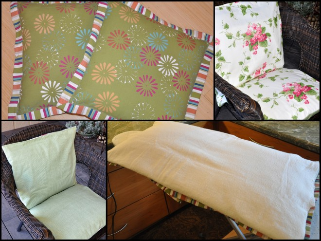 recovering deck chair cushions