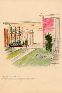 One of his landscape designs