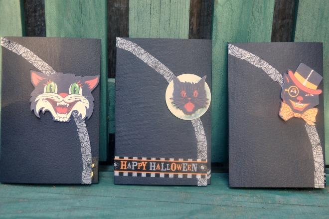 tri-fold halloween cards