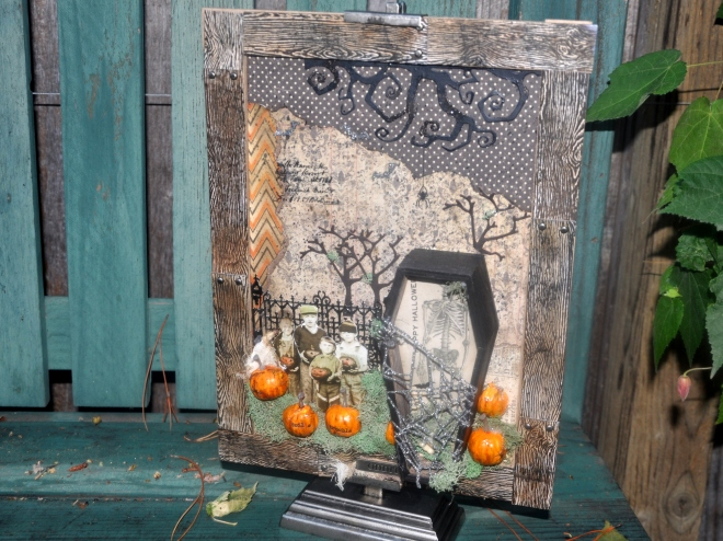 halloween-mixed-media
