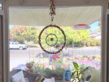 Halloween light catcher, a gift from fellow blogger Pauline
