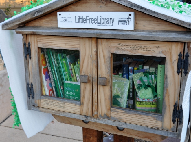 Little Free Library March 2017