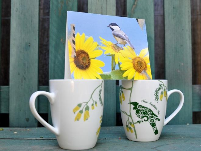 tea mugs New Zealand Tui