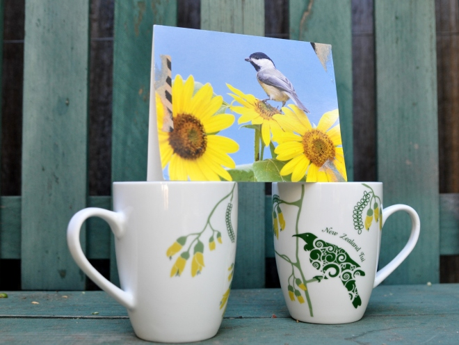 tea mugs New Zealand Tui