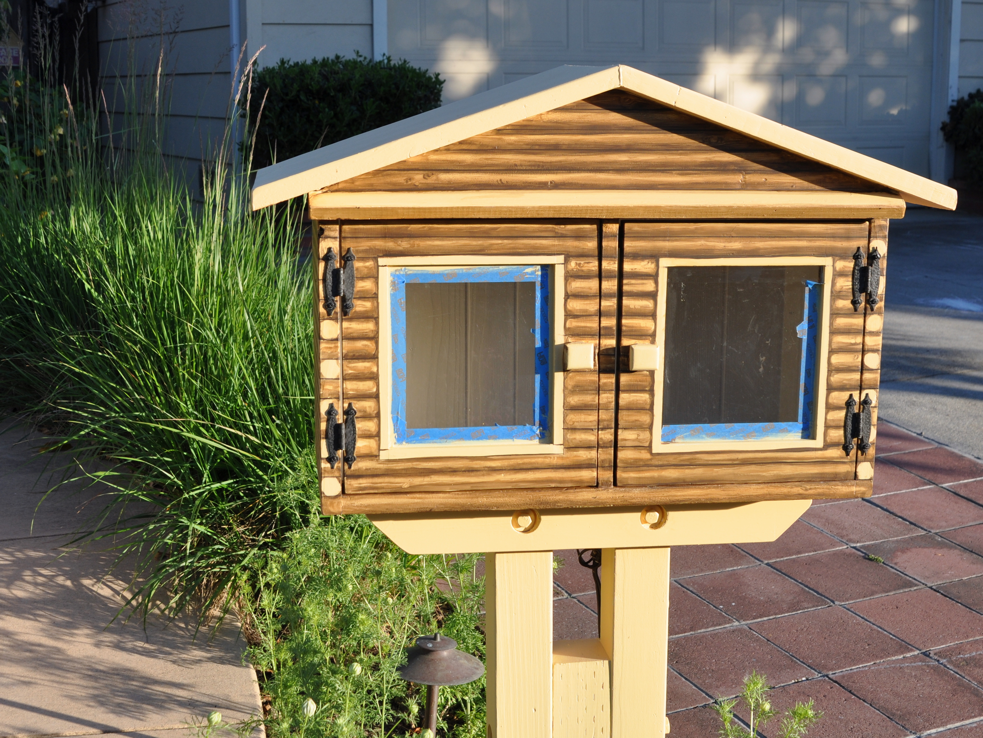 Little Free Library Gardening Nirvana