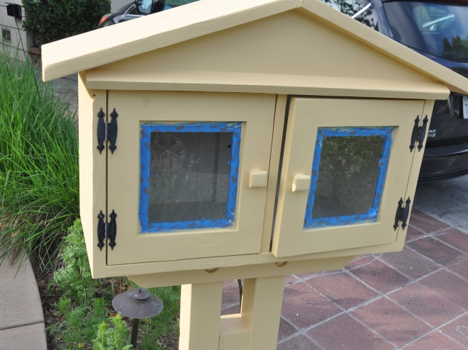 Little Free Library Primed for painting