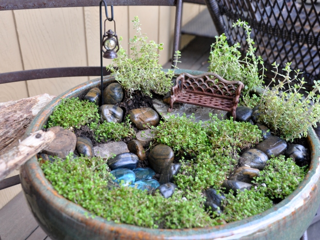 Miniature Peace Garden