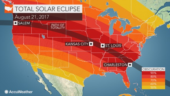 AccuWeather total solar eclipse