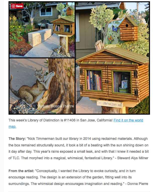 Little Free Library World Map.Little Free Library Of Distinction Gardening Nirvana