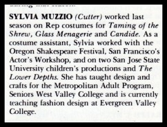 Sylvia Muzzio's bio