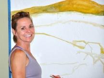 Artist Donna Pierre