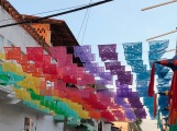 Papel picado, a Mexican folk art