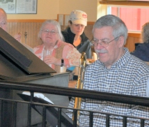 Breakfast at Bob's (see Marlene behind the piano player)