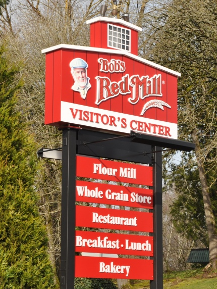 Visiting Bob's Red Mill store and restaurant
